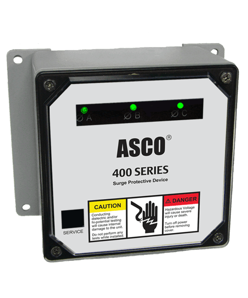Air and Power Solutions ASCO Model 430 Surge Protective Device